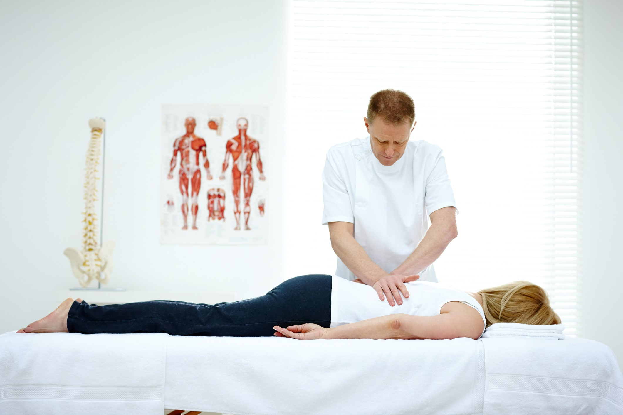 Chiropractic spinal adjustment in Winston Salem